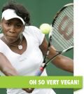Vegan Athlete Venus Williams
