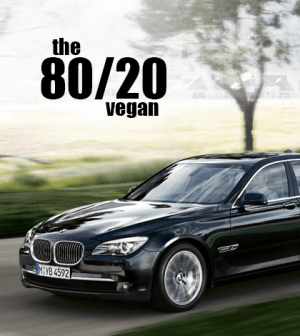 The 80/20 Vegan