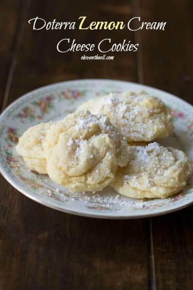 Doterra Lemon Cream Cheese Cookies – Losing My Mind One ...