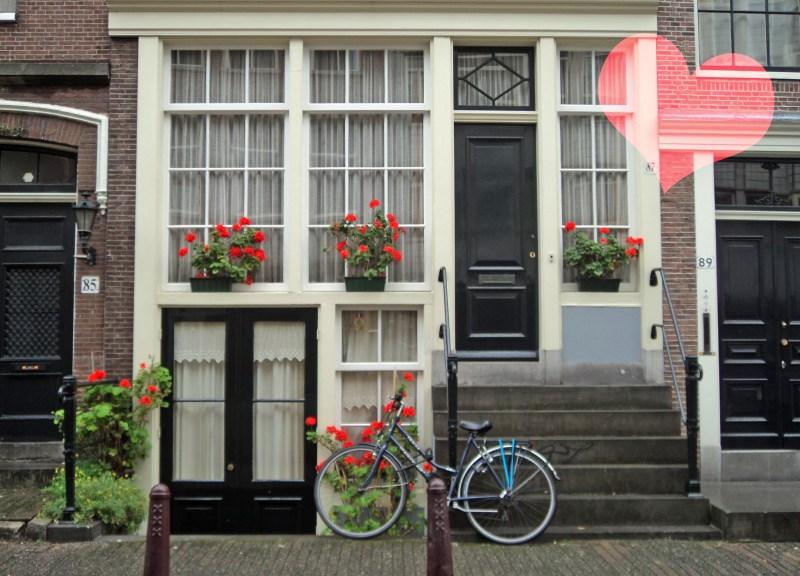 Fachada em Amsterdã - Oh, Thaís!
