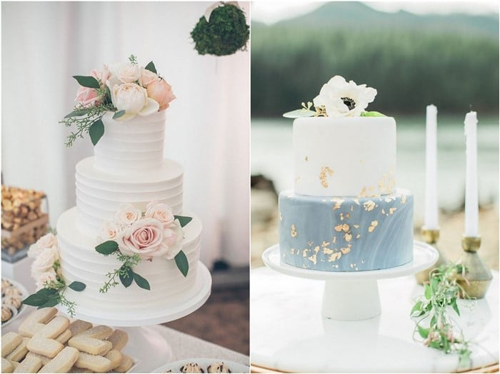 20 Simple Wedding Cakes For Spring Summer 2020 Oh The Wedding Day Is Coming