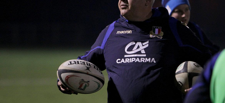 Natwest Sei Nazioni 2018, Parma, Cittadella del Rugby, raduno della Nazionale Femminile, sessione di allenamento serale.