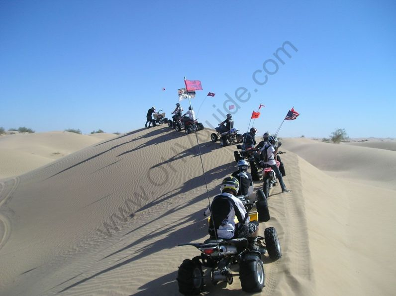 Glamis Group Ride