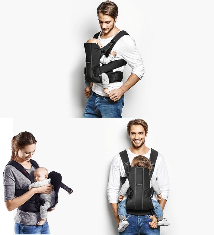 Babybjorn-collage
