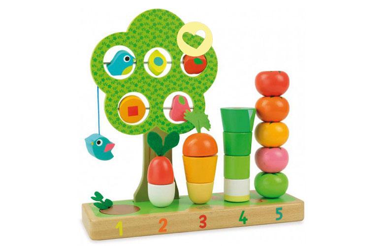 Leren tellen met groenten!