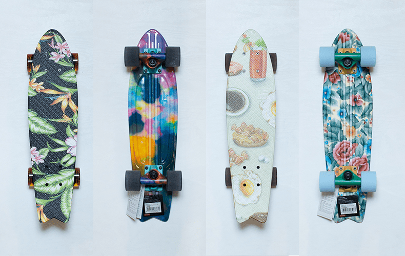 Skateboards around the Globe!