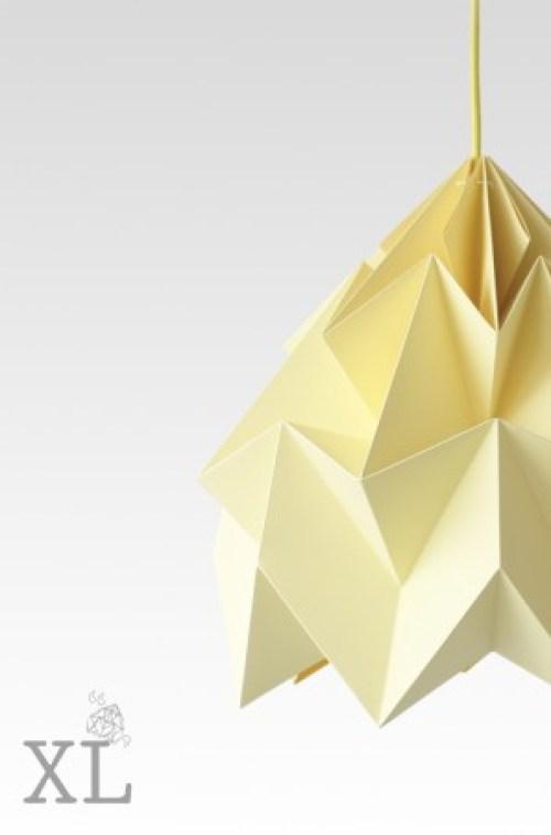kinderlamp origami studio snowpuppe