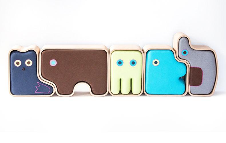 Creatieve kindermeubels met een design sausje!