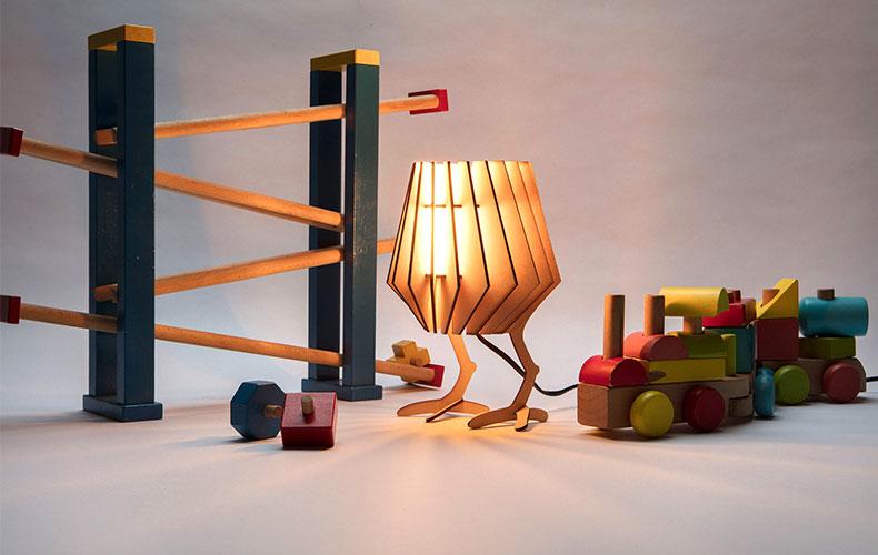 Dutch design lamp ombouwen tot kinderlamp!