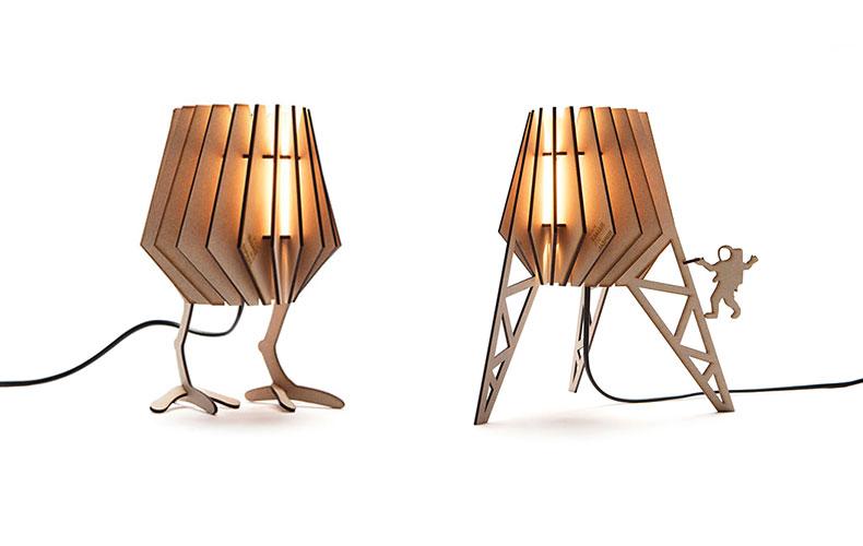 Win 2 x een design lamp voor op de kinderkamer