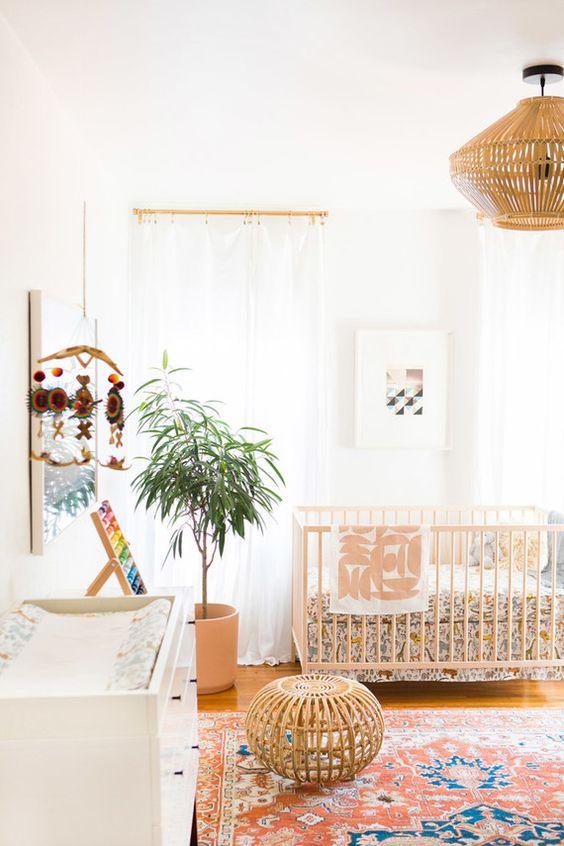 verlichting in de babykamer