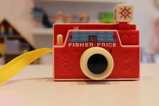 fotocamera fisher price