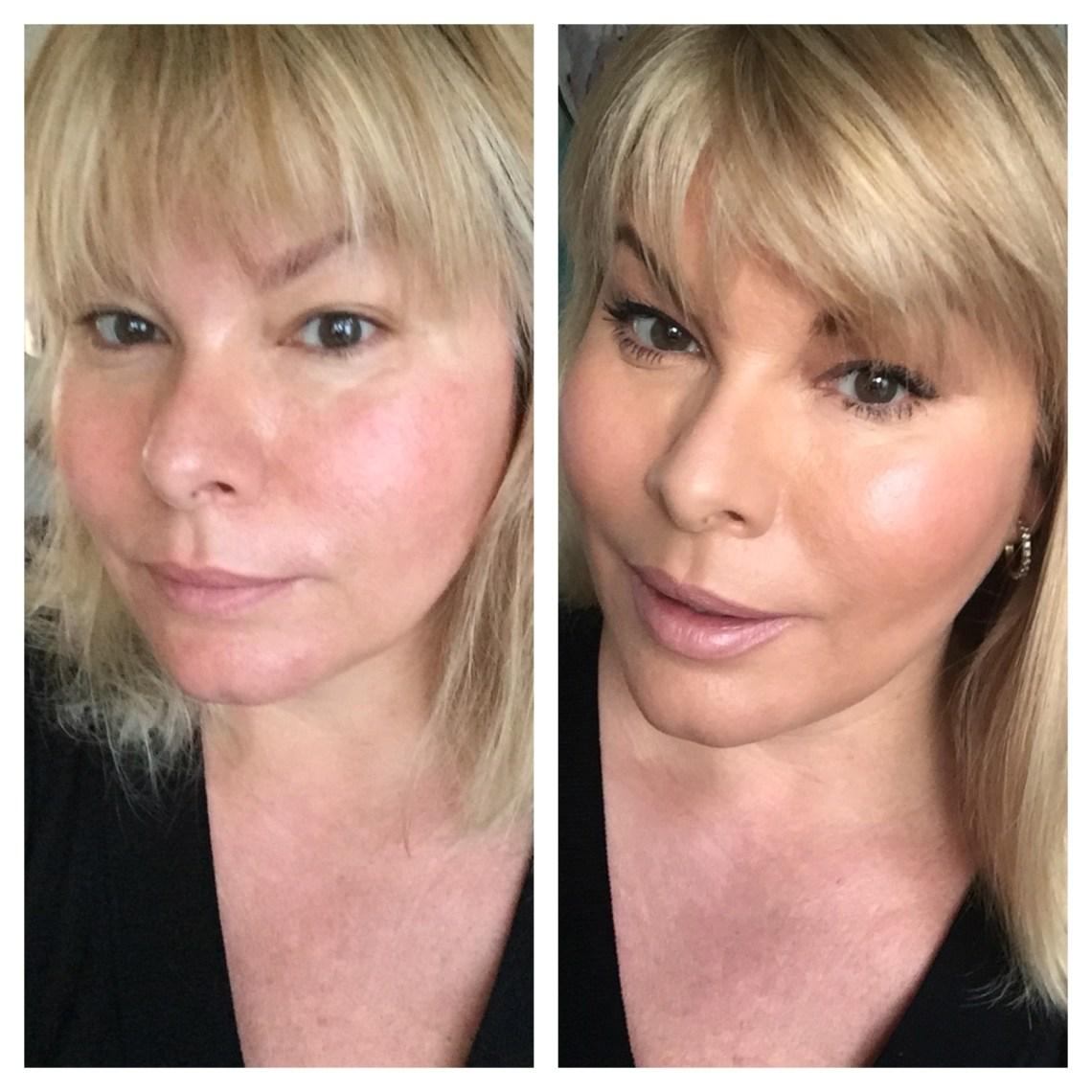 før og efter billede