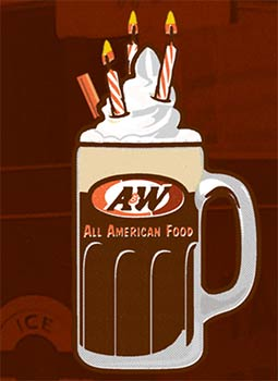 AW Free Birthday Root Beer Float  Oh Yes Its Free