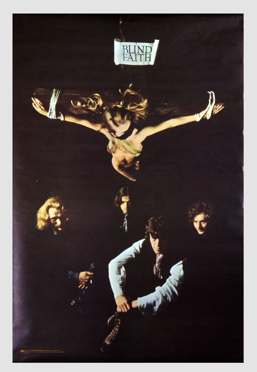 Blind Faith Poster 1969 The Visual Thing B284 24 x 36 Condition Very Fine