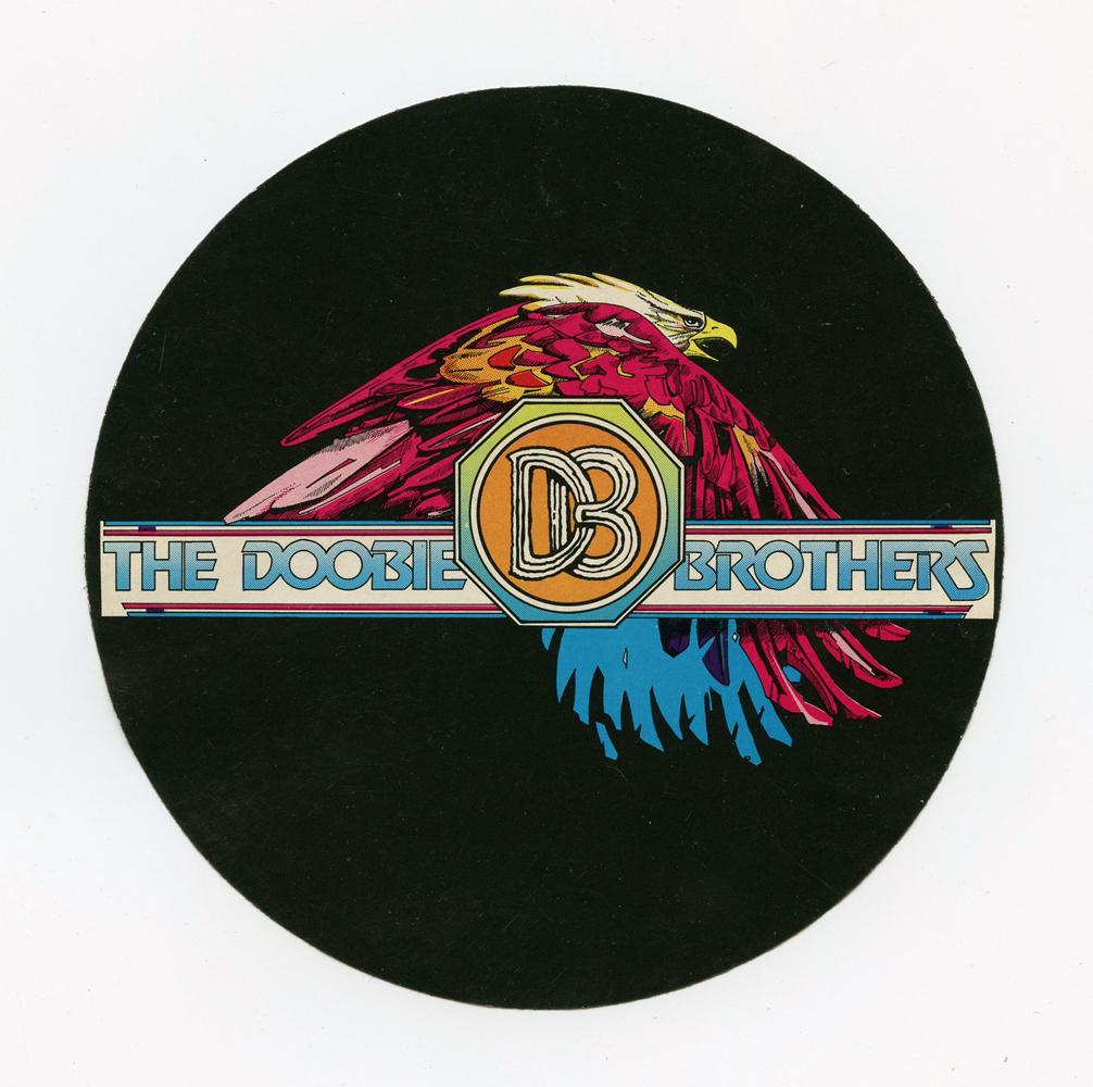 The Doobie Brothers Sticker 1976