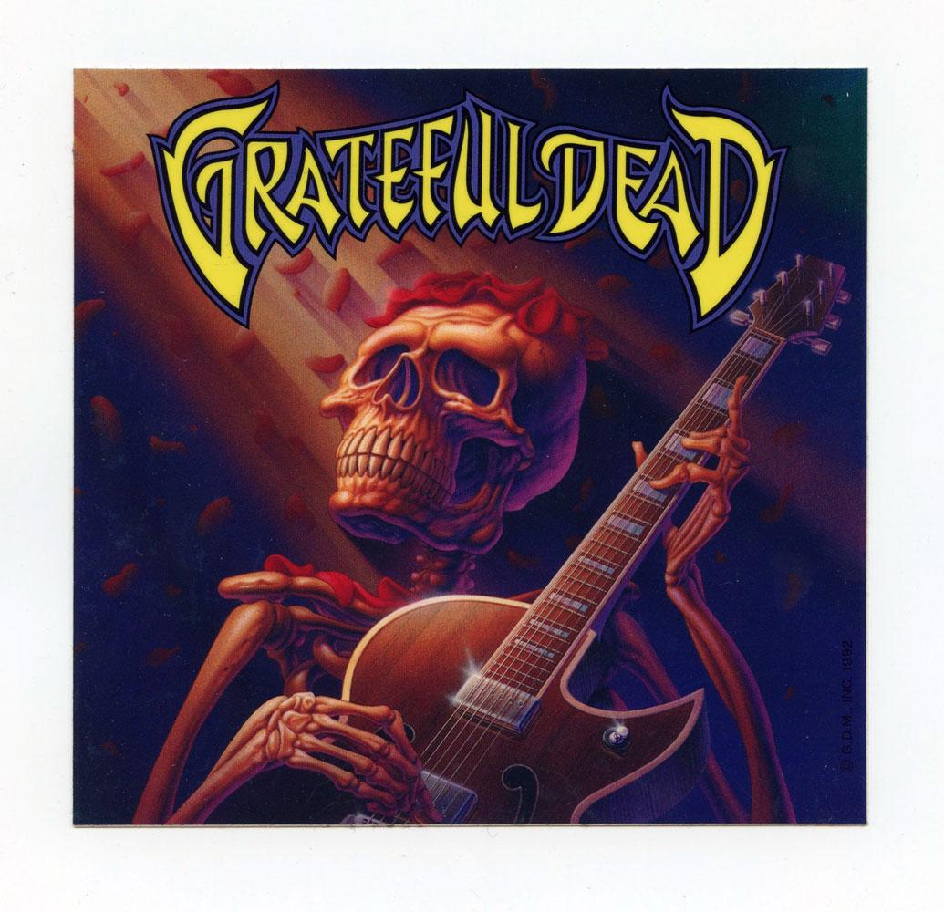 Grateful Dead Sticker 5 x 5 Vintage
