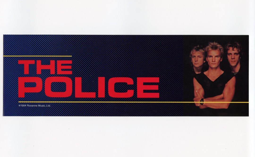 The Police Sticker Decal 1983 Vintage