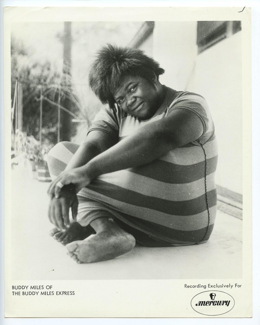 Buddy Miles Photo Mercury Records Original Vintage