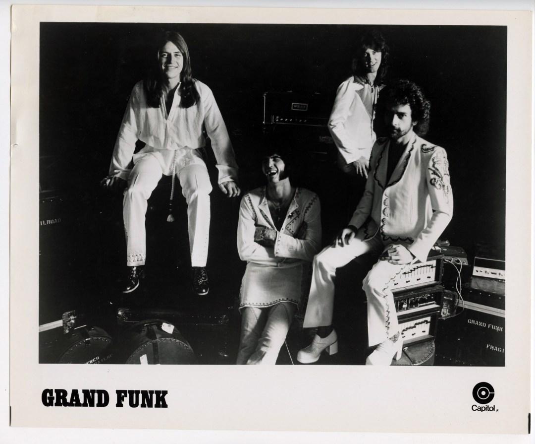 Grand Funk Railroad Photo Capitol Records  Original Vintage