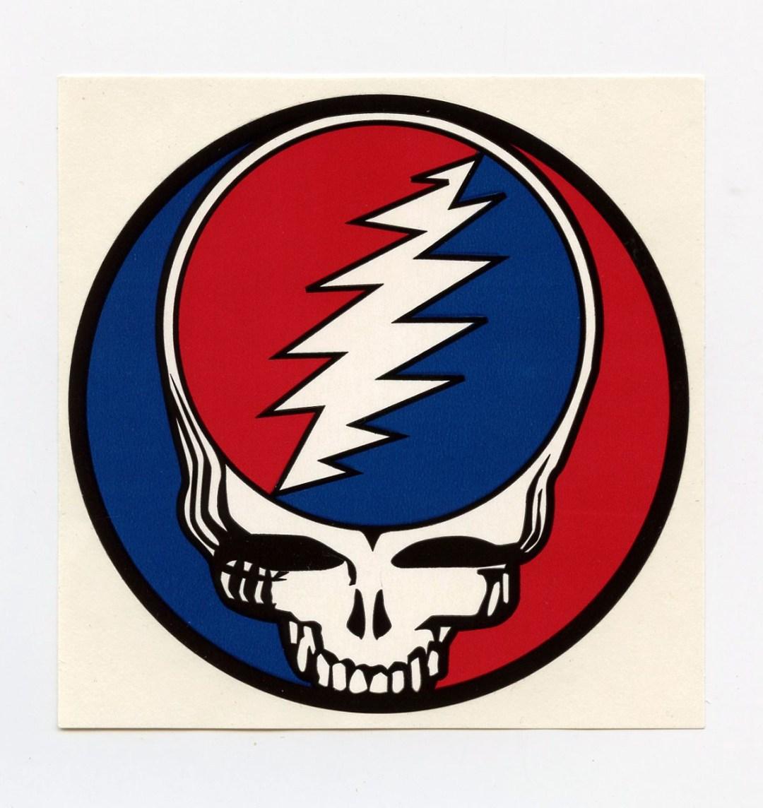 Grateful Dead Steal Sticker Your Face 3