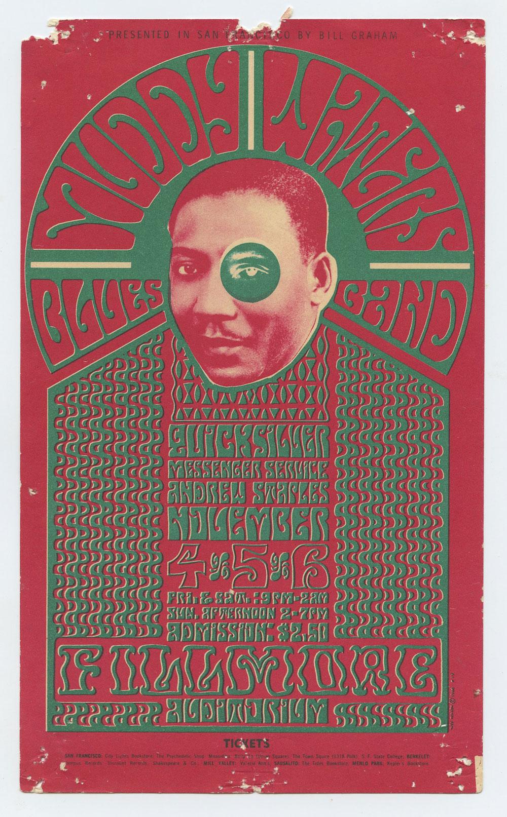 Bill Graham 35 Handbill Condition Fine