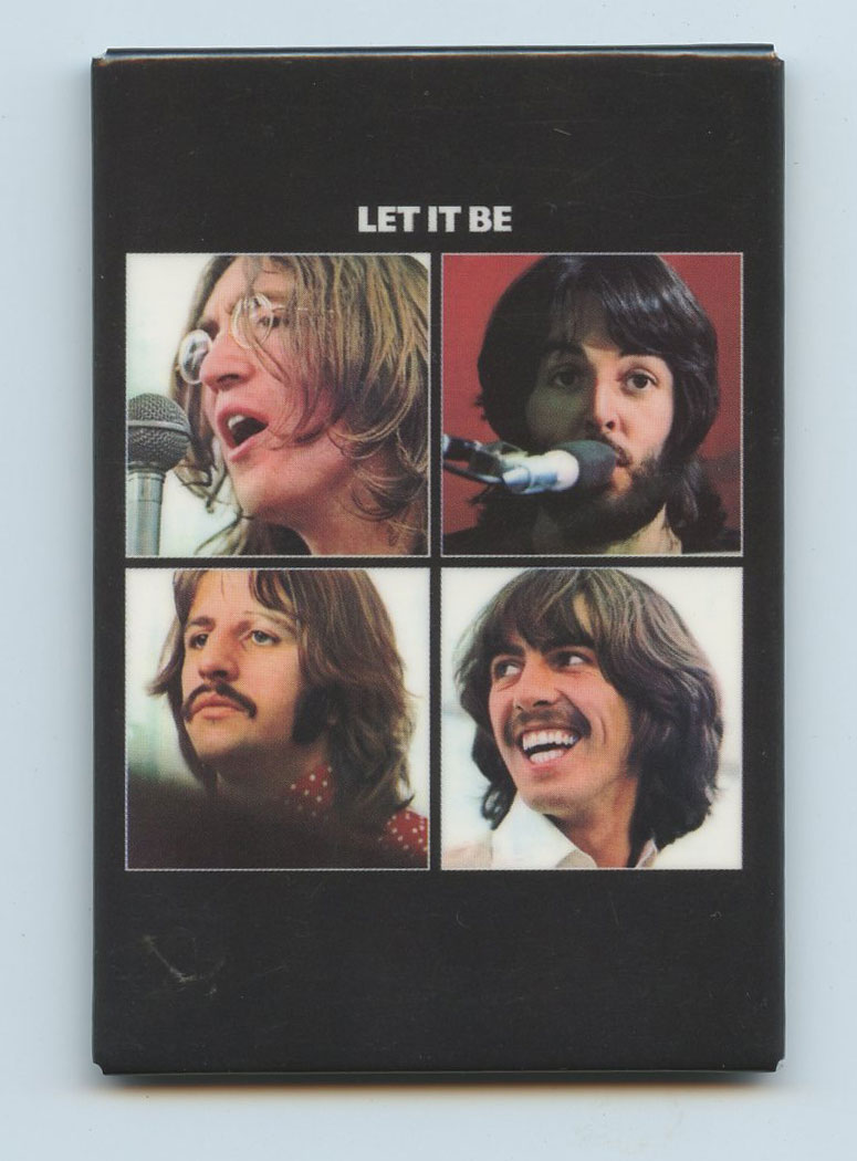 The Beatles Magnet Let It Be