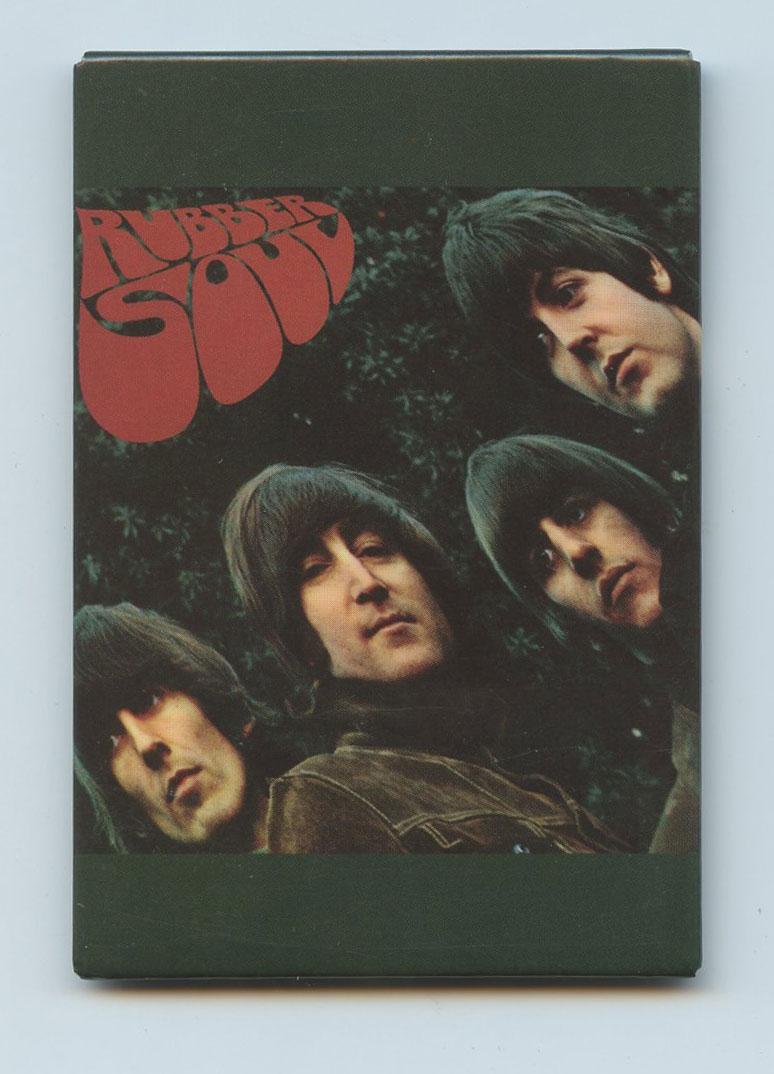 The Beatles Magnet Rubber Soul
