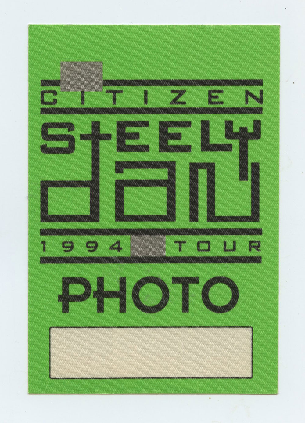 Steely Dan 1994 Tour Backstage Pass