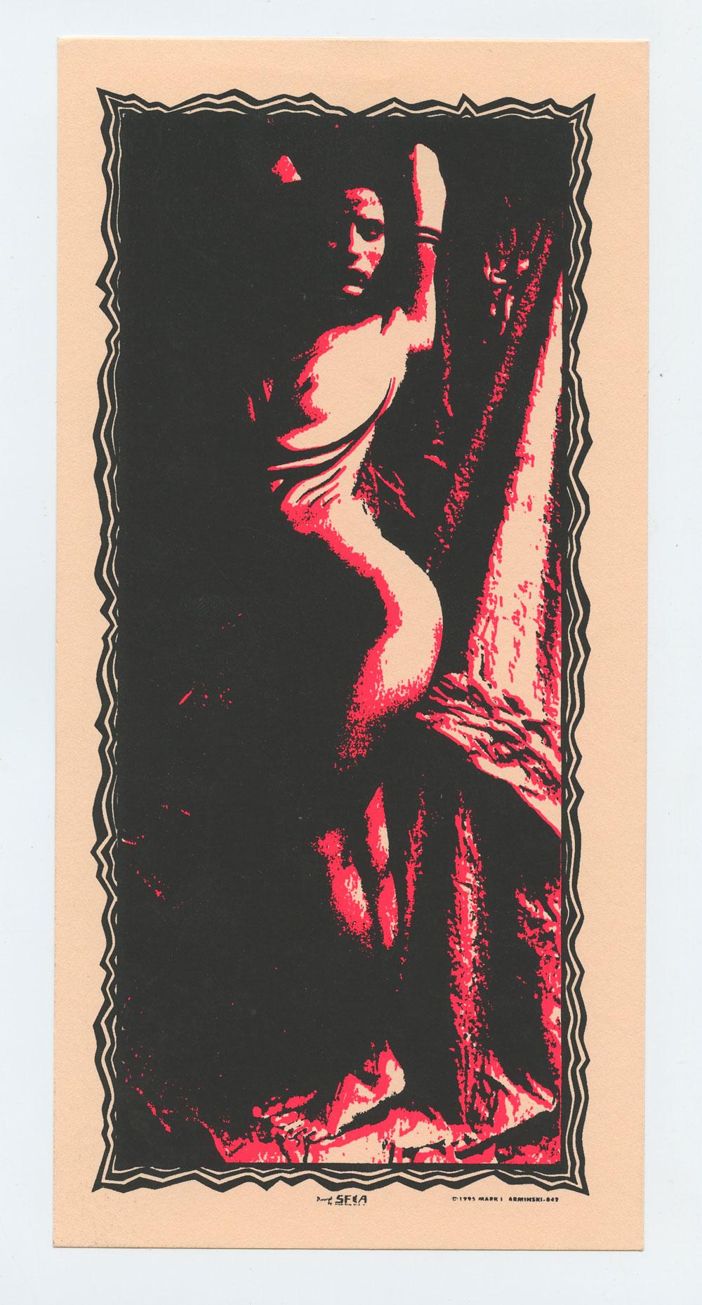 Painted Lady Handbill 1995 Mark Arminski