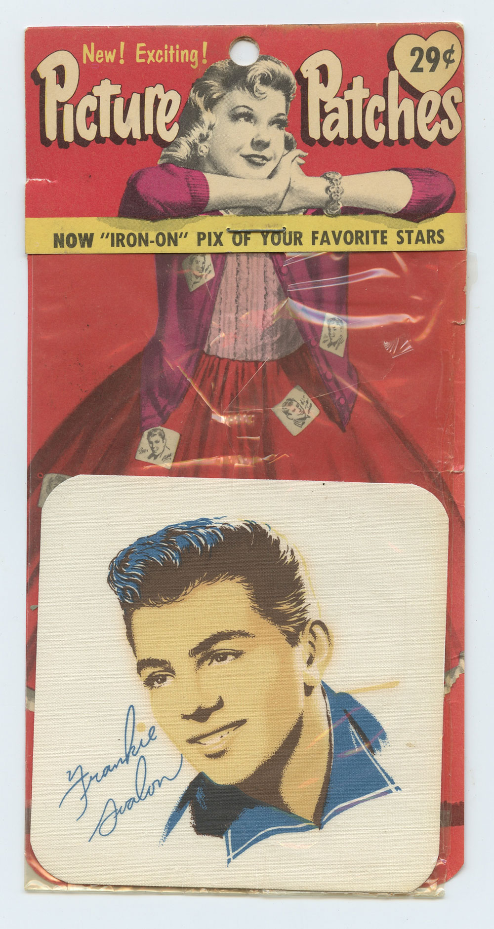 Frankie Avalon Picture Patch Vintage circa 1950s