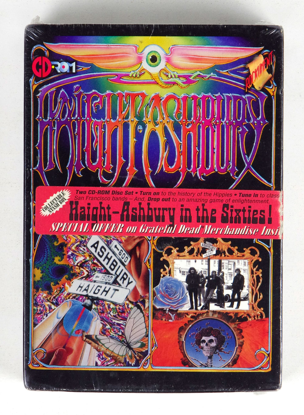 Haight Ashbury In The Sixties! CD ROM Box Set Sealed NEW