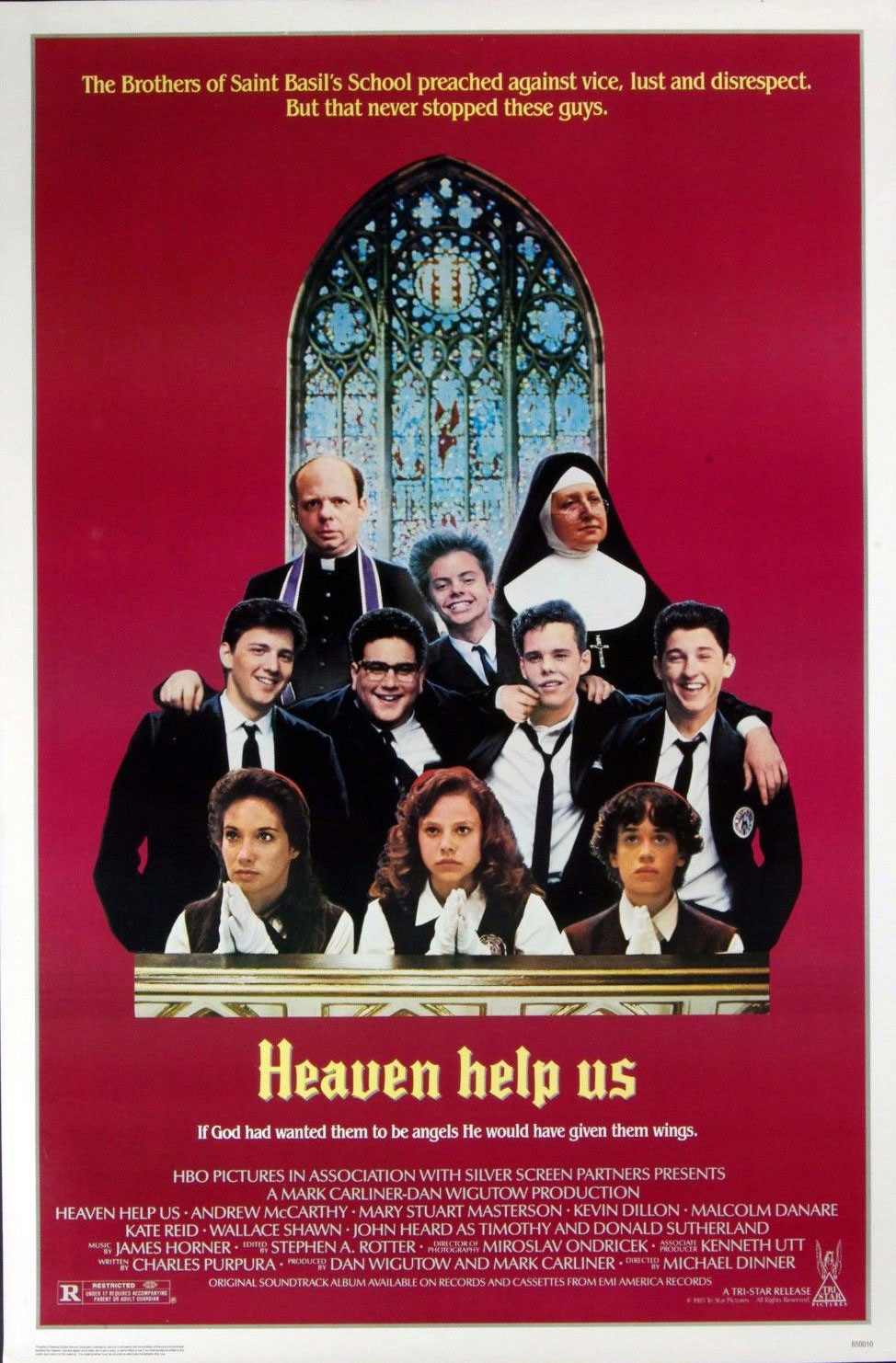 Andrew McCarty Heaven Help Us 1985 Movie Poster 27 x 41 1 sheet