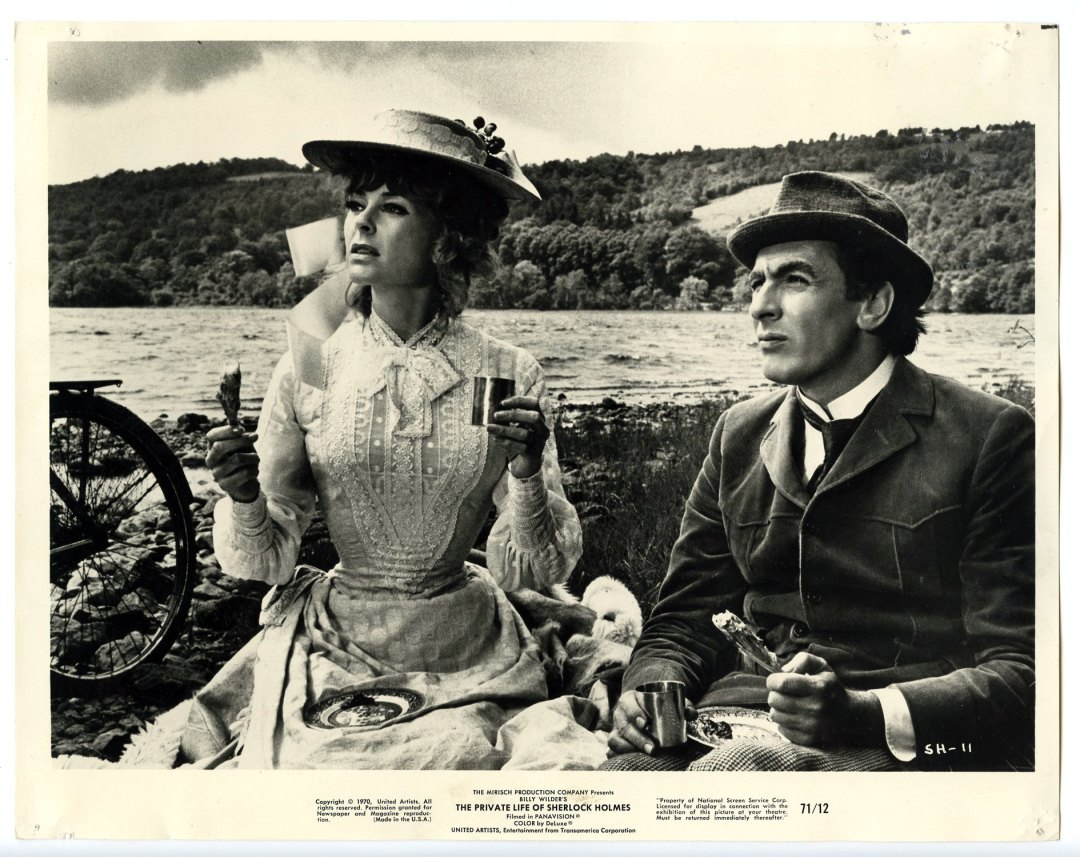 Robert Stephens Genevieve Page Lobby Card 1971 The Private Life of Sherlock Holmes