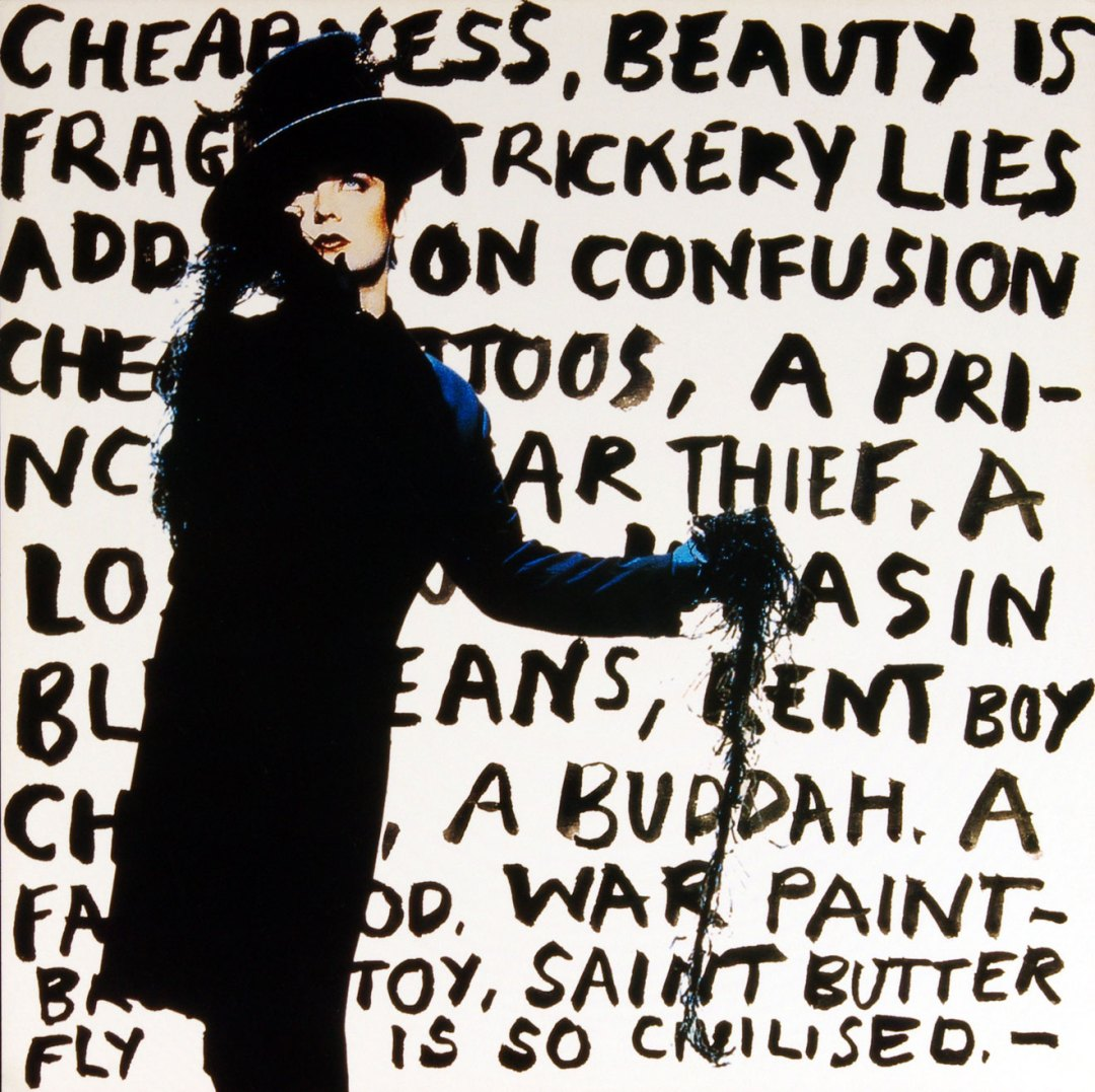 Boy George Poster Flat Cheapness and Beauty 1995 Album Promo 12 x 12
