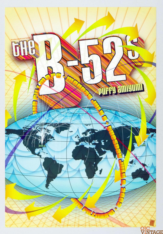 The B-52's Poster 2002 Jul 8 New Fillmore