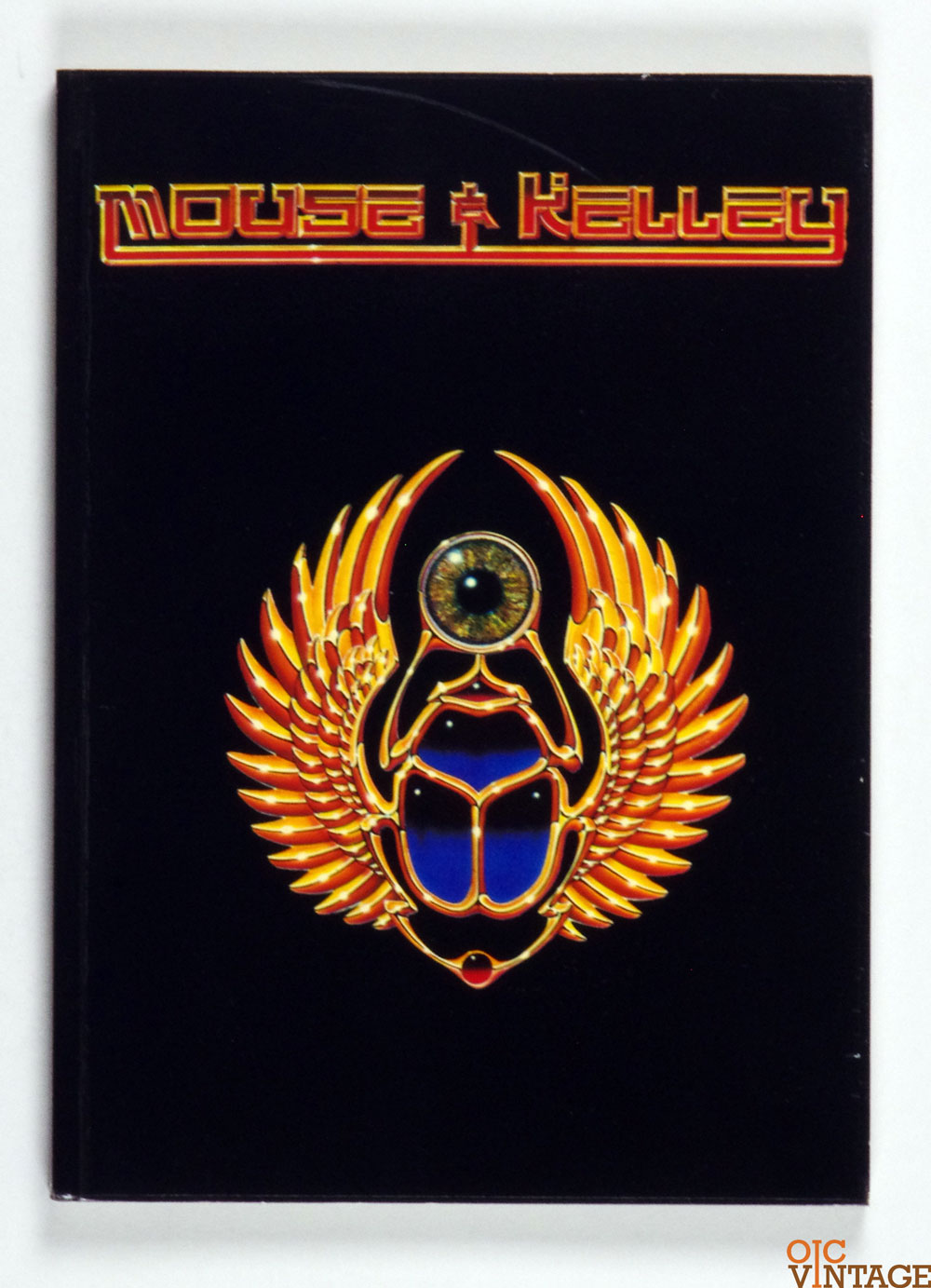 Mouse and Kelley First Edition Psychedelic Art book Paper Tiger 1979 Nov