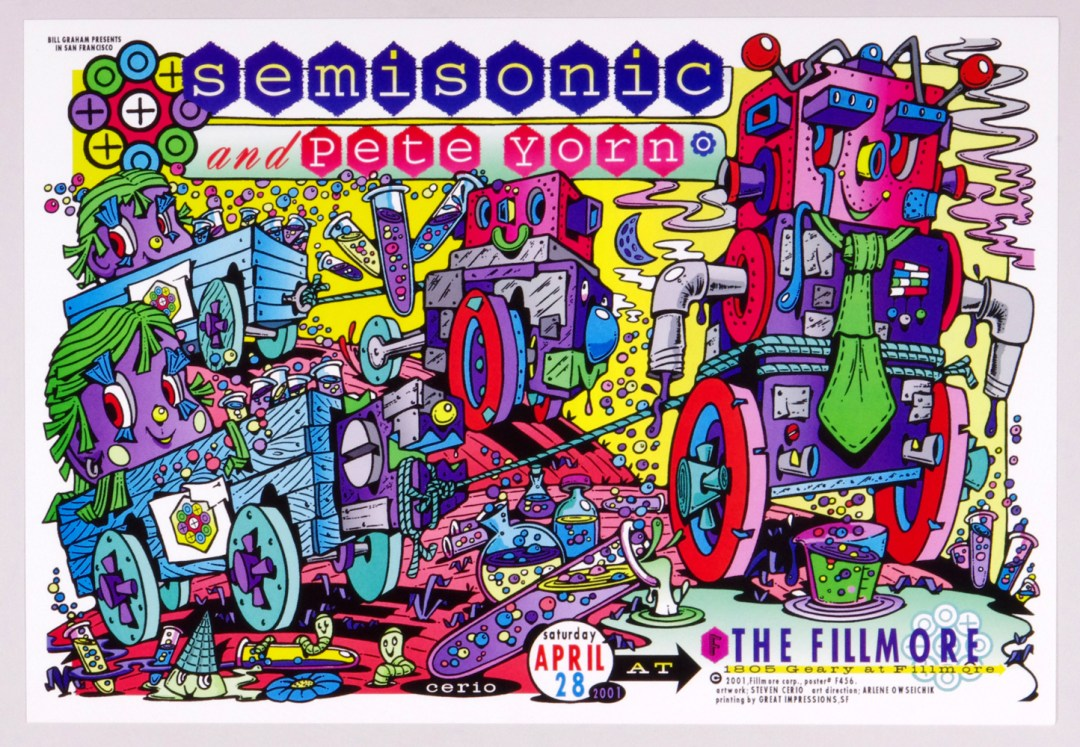 New Fillmore F456 Poster Semisonic Pete Yorn 2001 Apr 28
