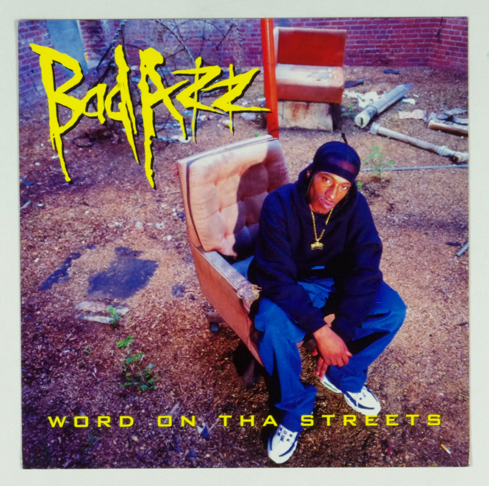 Bad Azz Poster Flat 1998 Word On Tha Streets Album Promo 12x12 2 sided