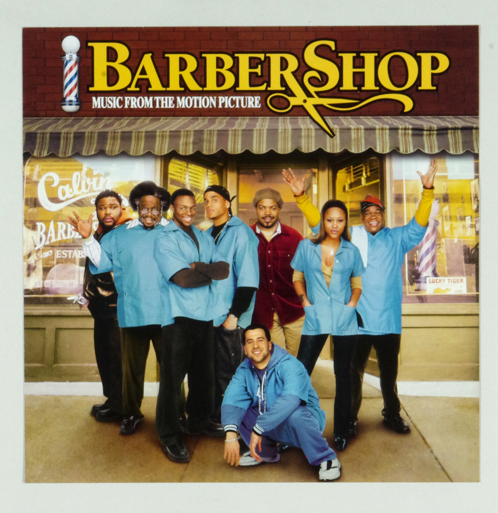 Barber Shop Poster Flat 2002 Movie OST Album Promo 12x12 2 sided