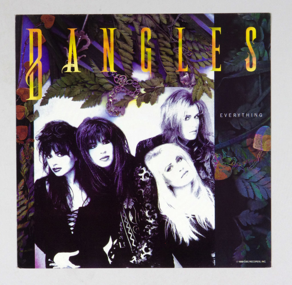 Bangles Poster Flat 1988 Everything  Album Promo 12x12 2 sided