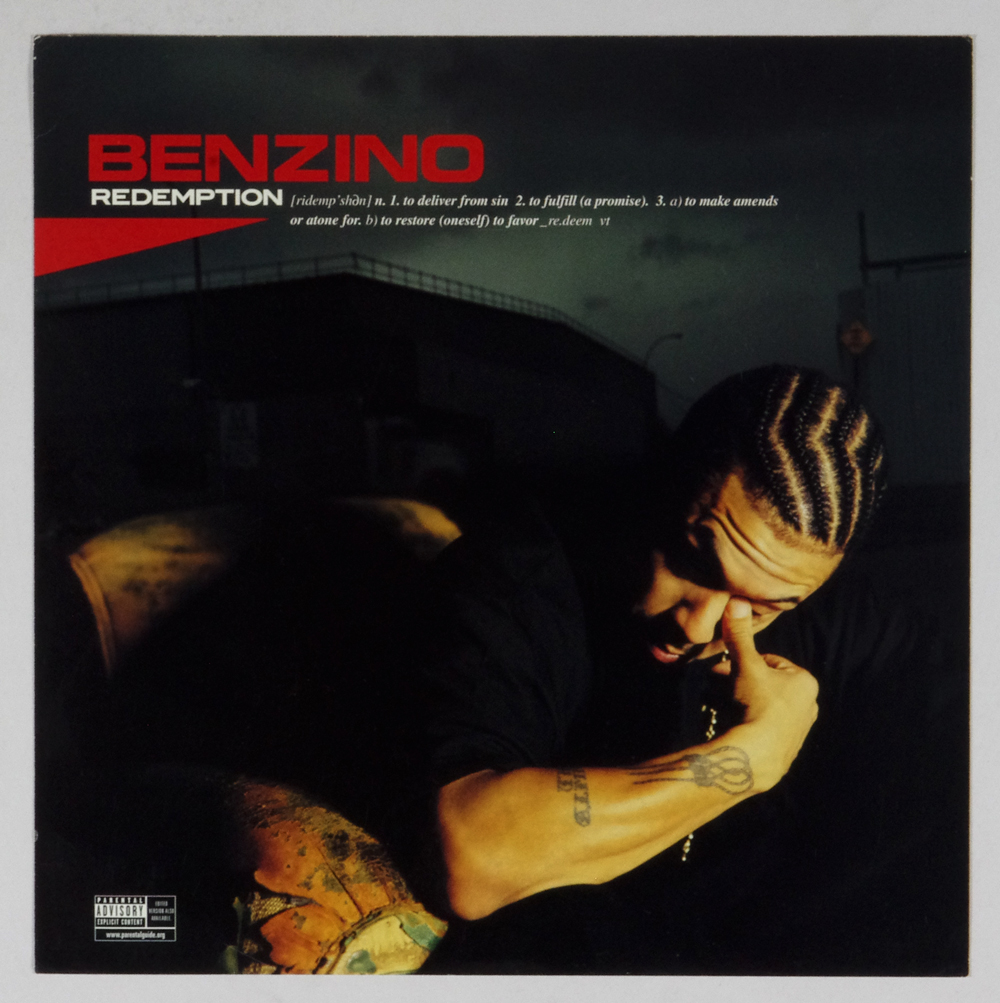 Benzino Poster Flat 2003 Redemption Album Promo 12x12 2 sided