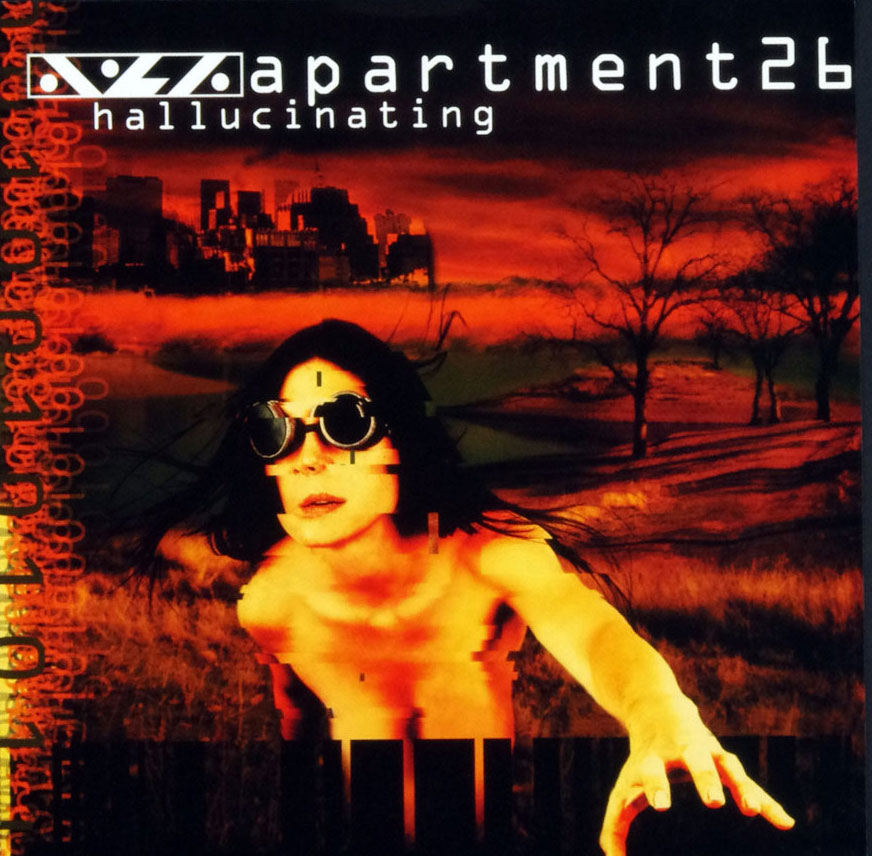 Aprtment26 Hallucinating Poster Flat 2000 Album Promo 12x12 2 sided