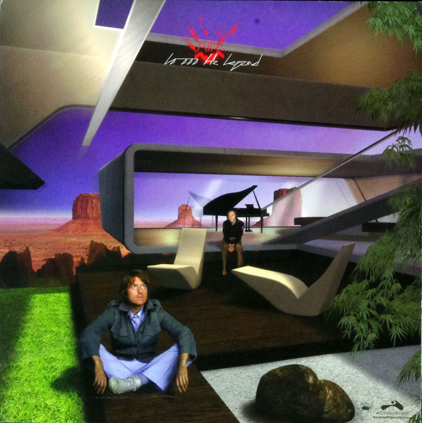 Air 10,000 Hz Poster Flat 2001 Legend Album Promo 12x12 4 sided