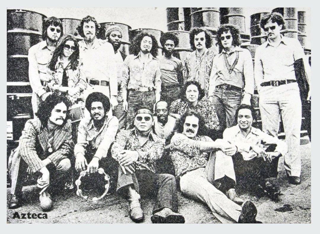 Azteca Poster Cardboard Pyramid of the Moon 1973 Album Promo 20x28