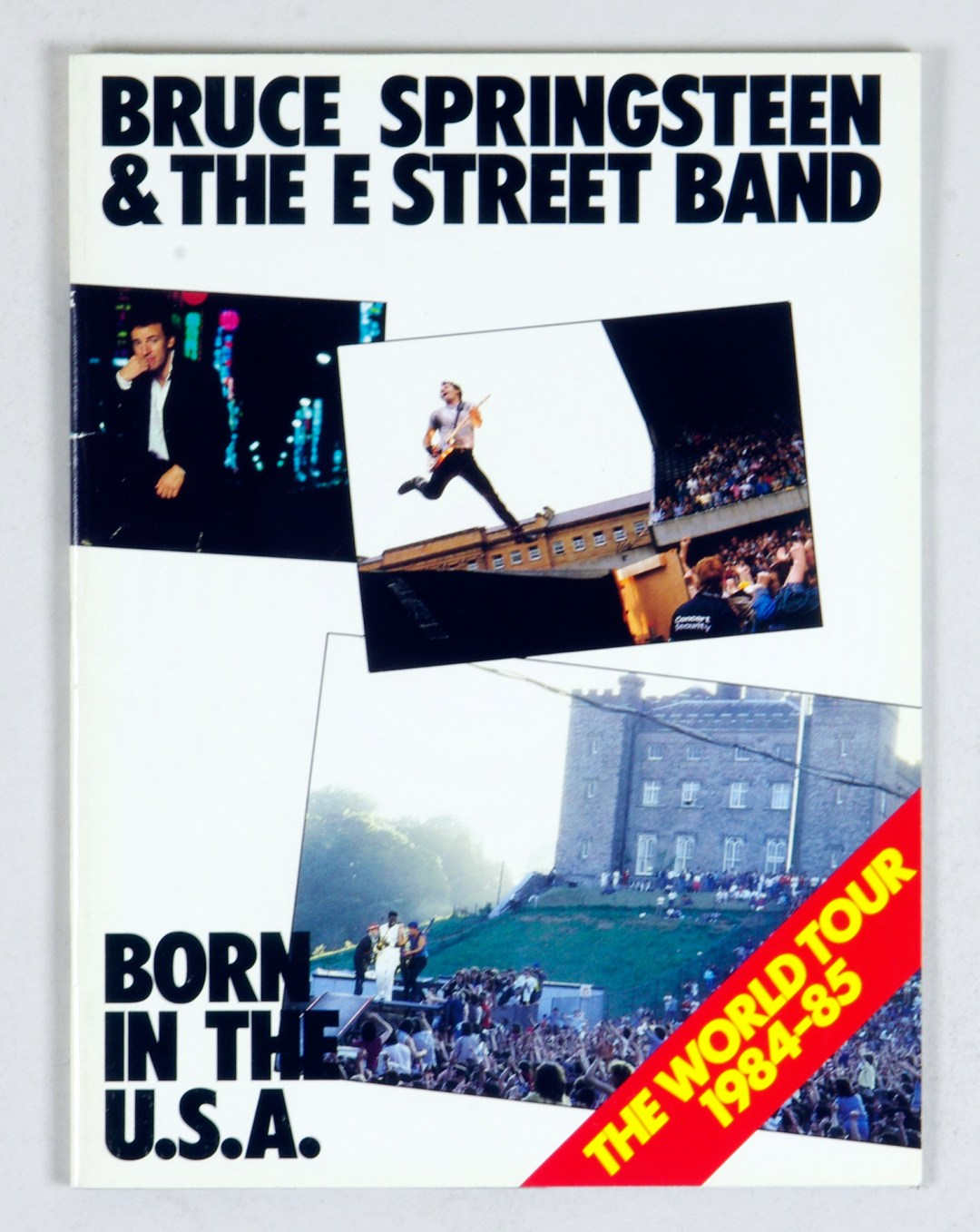 Bruce Springsteen 1984 1985 Born In The USA Tour Program Book 11 x 14