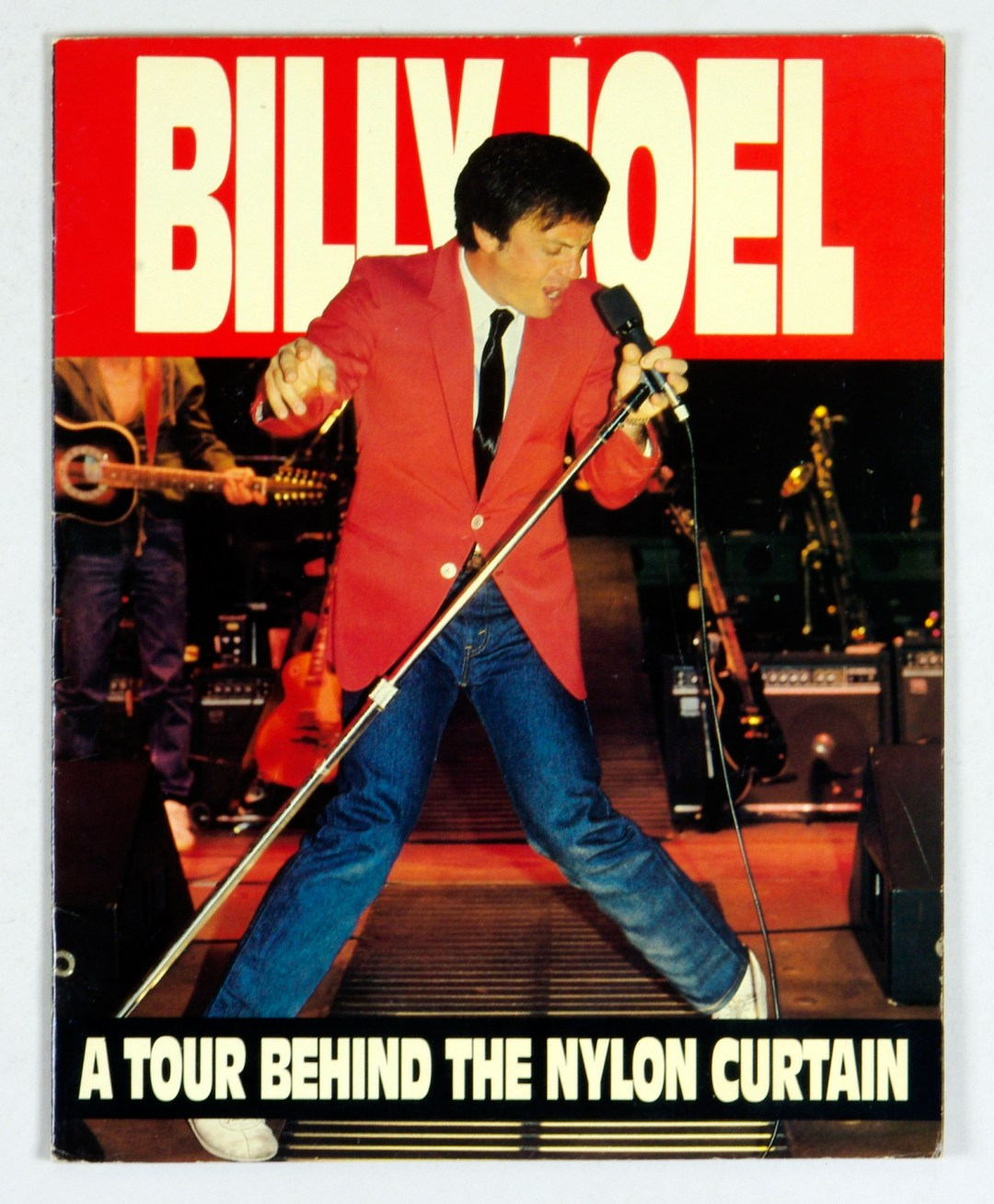 Billy Joel 1982 A Tour Behind The Nylon Curtain Tour Program Book