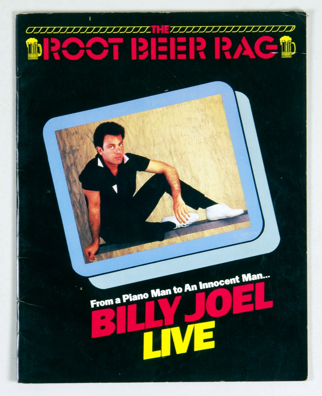 Billy Joel Program Book 1984 A Innocent Man Tour