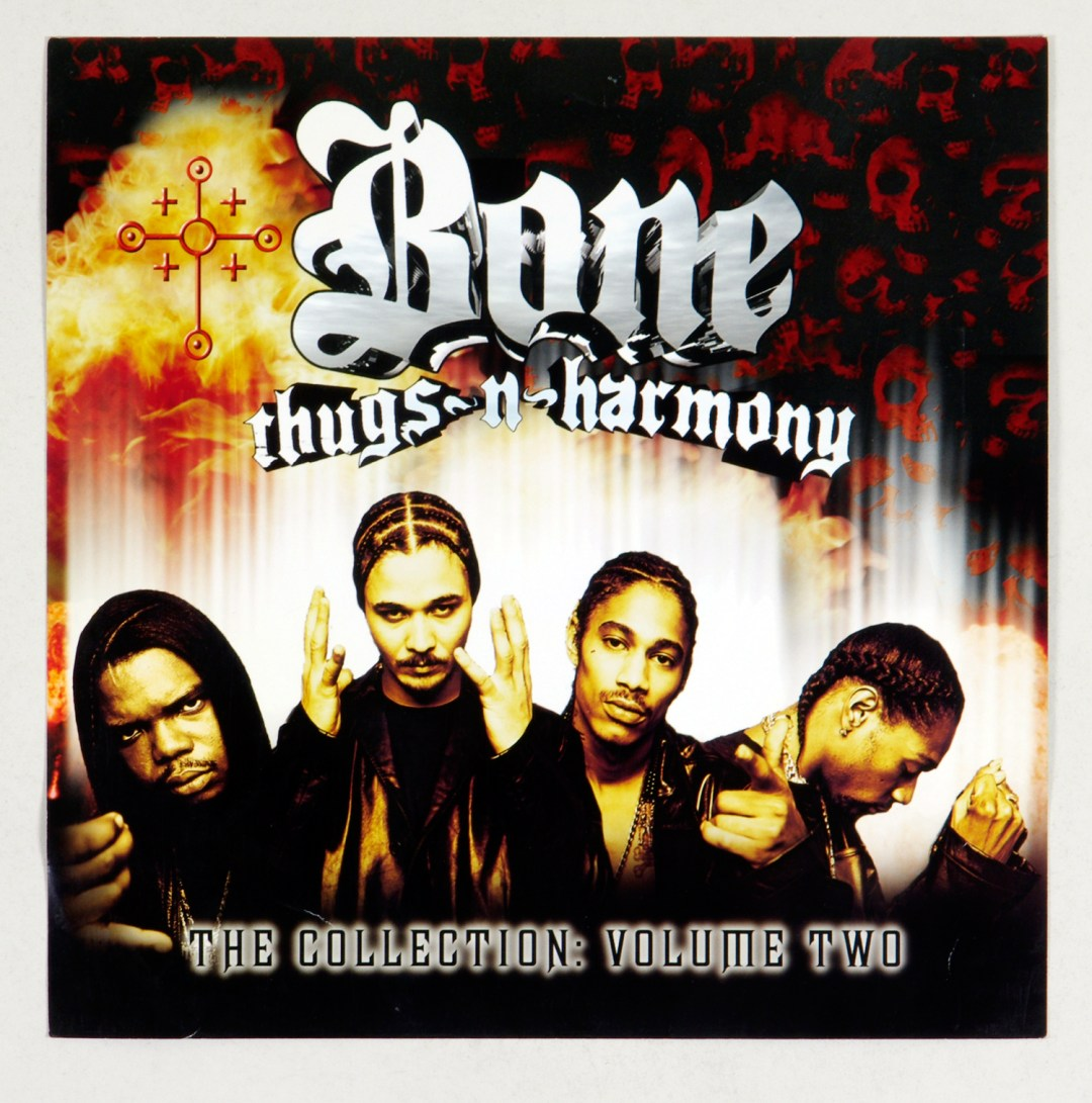 Bone Thugs N Harmony Poster Flat 2000 The Collection Vol Two Album Promo 12 x 12