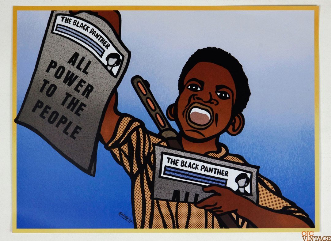 All Power to the People Poster 1969 March 19 Emory Douglas